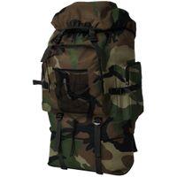 Plecak w stylu wojskowym XXL 100L moro