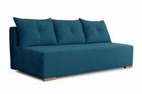 Kanapa Luna niebieska rozkładana sofa z funkcją spania od producenta