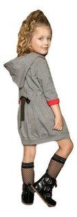 Tunika dla dziewczynki od MałaMi z Napisem WHY 110/116