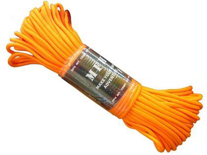 Paracord - MFH  4 mm - 100 FT Lina orange