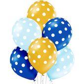 balony KROPKI na URODZINY przyjęcie dekoracja 6szt