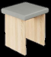 Taboret stołek do toaletki dąb sonoma