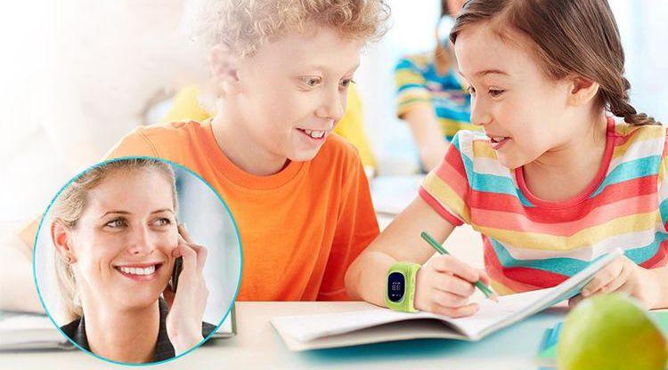 SmartWatch zegarek dla dzieci z lokalizatorem GPS SIM T266 zdjęcie 7