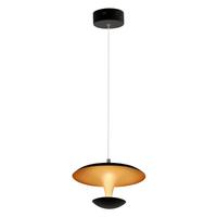 Lampa wisząca 1xLED COSTA Milagro Costa kolor - matowy czarno-złoty