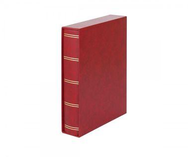 Klaser Luxus z etui - 60 str A4 czerwony karty