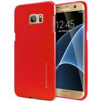 Mercury I-Jelly - Etui Samsung Galaxy S7 Edge (czerwony)