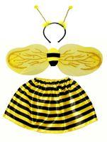 Zestaw Mała Pszczółka: spódnica, skrzydła, czułki