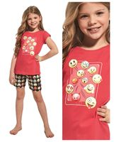Piżama dziewczęca CORNETTE 787/64 EMOTICON 98-104