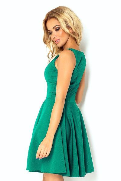 aab43e9e34 Rozkloszowana sukienka z koła - Zielona Rozmiar - XXL • Arena.pl
