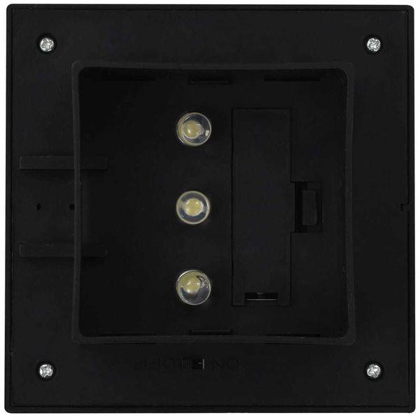 Kwadratowe Lampy Solarne Na Zewnątrz, 6 Szt, Led, 12 Cm, Czarne zdjęcie 8