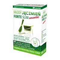Młody Jęczmień Forte Slim 20 saszetek - Długi termin ważności!