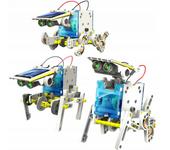Robot Solarny Zestaw Edukacyjny 13w1 Auto Pies zdjęcie 3