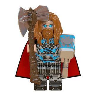 MEGA figurka avengers Thor 2020 +karta lego PL