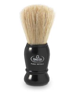 Omega pędzel do golenia z włosia dzika