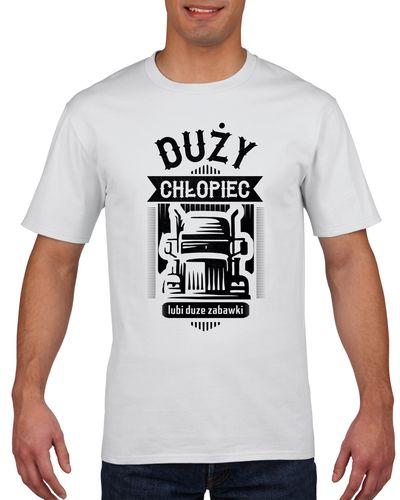 Koszulka męska DUZY CHLOPIEC DUZE ZABAWKI XXL na Arena.pl