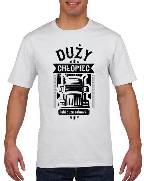 Koszulka męska DUZY CHLOPIEC DUZE ZABAWKI XL na Arena.pl