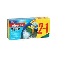 Vileda Zmywak Power Green 2+1 Zielony