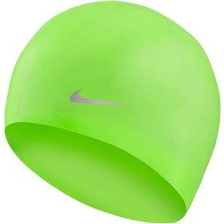 Czepek pływacki Nike Os Solid Junior zielony TESS0106-370