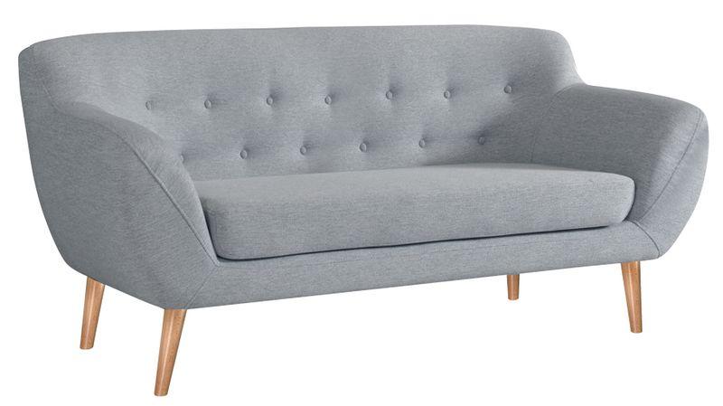 Sofa FINKA 3 PIK kanapa skandynawska vintage retro szara prl RIBES zdjęcie 1