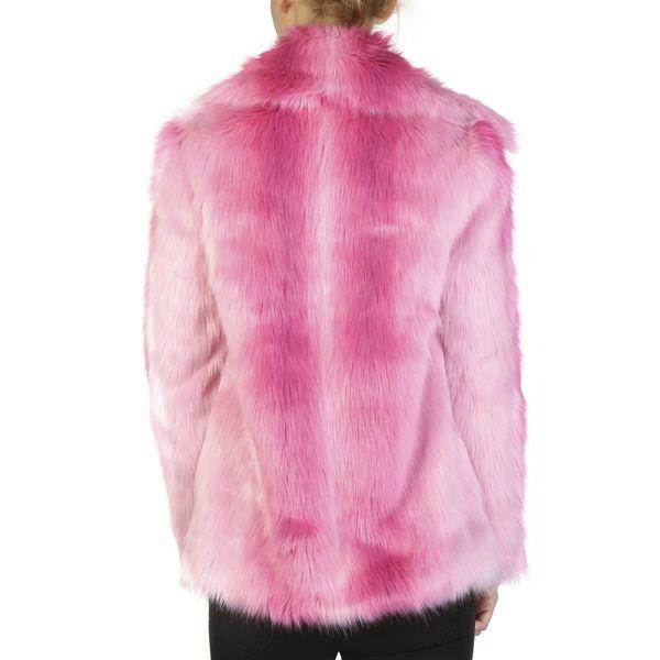 Guess damska kurtka/futerko zimowe różowy M zdjęcie 2