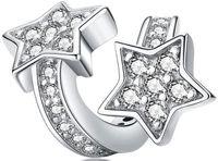 Charms Srebro - Zakręcone Gwiazdy