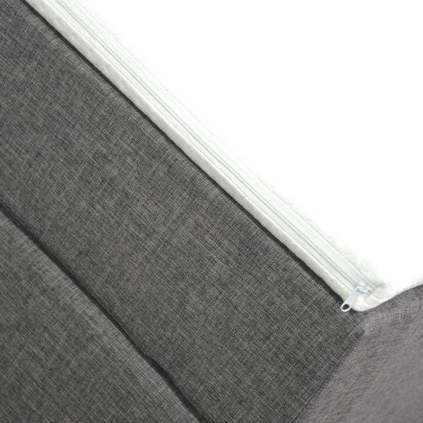 Łóżko kontynentalne 160 Paris z podwójnym materacem bonellowym zdjęcie 2