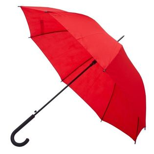 Parasol automatyczny Fribourg, czerwony