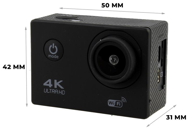 Kamera sportowa 4K Ultra HD wi-fi wodoszczelna do 30 metrów T273 zdjęcie 5