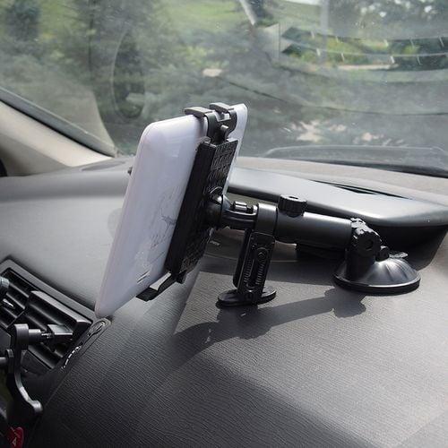 Uniwersalny uchwyt do tabletu na deskę rozdzielczą, kokpit samochodu na Arena.pl