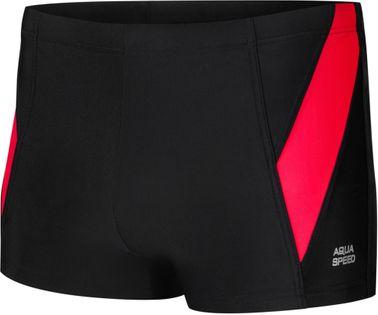 Spodenki pływackie LOGAN Rozmiar - Stroje męskie - 3XL, Kolor - Logan - 16 - czarny / czerwony
