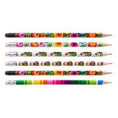 Komplet 6 ołówków z wzorami łowickimi zdjęcie 2
