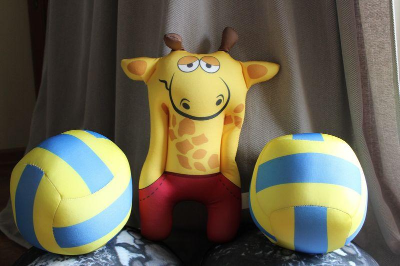 Relaksacyjna poduszka 3D na prezent - Żyrafa zdjęcie 8