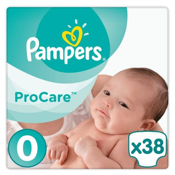 Pampers ProCare 0, pieluchy 38 sztuk na Arena.pl