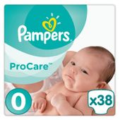 Pampers ProCare 0, pieluchy 38 sztuk