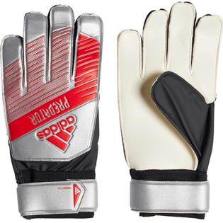 Rękawice bramkarskie adidas Predator Training szaro czerwono biale DY2614