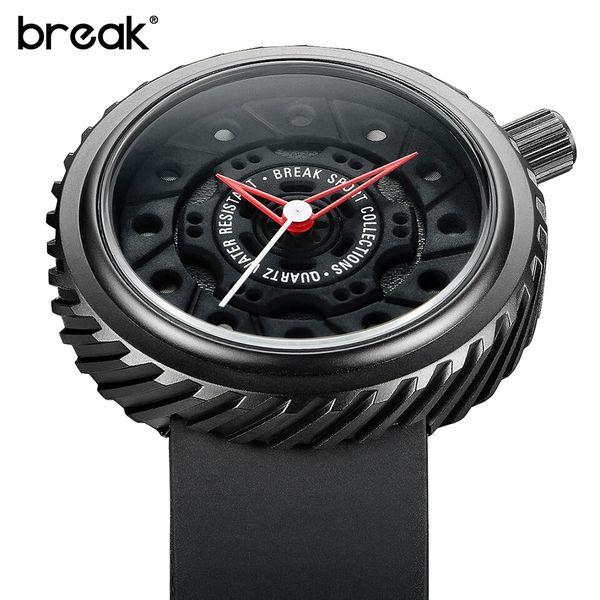 Nowoczesny, męski zegarek Break w eleganckim pudełku zdjęcie 7