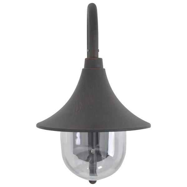 LAMPA LAMPKA ŚCIENNA OGRODOWA ALUMINIUM 42cm zdjęcie 2