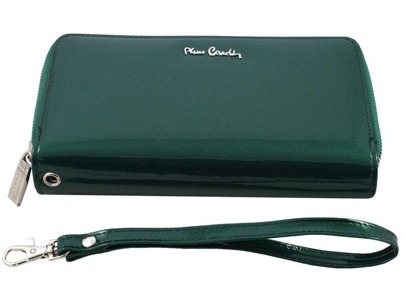 Saszetka podwójna damska Pierre Cardin, kolor zielony zdjęcie 6