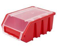 Mały Pojemnik Magazynowy Warsztatowy Ergobox 2 czerwony plus Patrol
