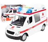 Ambulans Karetka 1:16 interaktywna Auto dźwięki i światła Y178