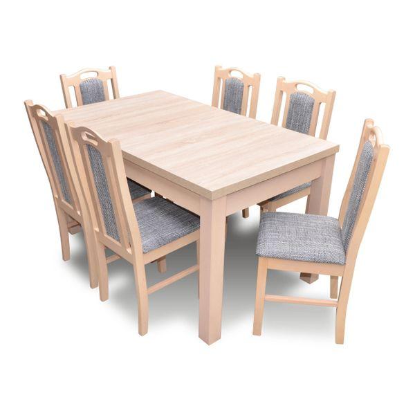 Stół 6 Krzeseł Zestaw Natalia 2 Producent