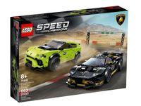 Lego Speed Champions Lamborghini Urus ST-X i Lamborghini Huracán Super Trofeo EVO