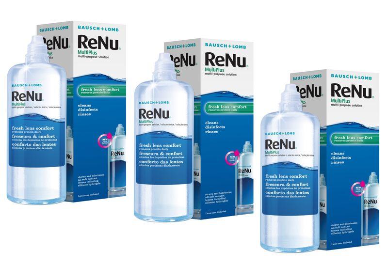ReNu MultiPlus 3x360 ml B&L płyn do soczewek zdjęcie 1
