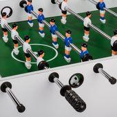Stolik do gry w piłkarzyki składane BELFAST, biały