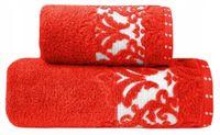 Ręcznik Venezia 50x90 Czerwony Bawełna Greno