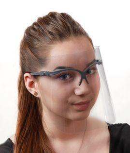 Przyłbica Ochronna Stomatologiczna ULTRALEKKA dla kosmetyczki fryzjera