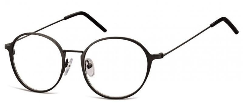 62fbf55a8d7254 Lenonki zerowki oprawki okulary korekcyjne czarne • Arena.pl