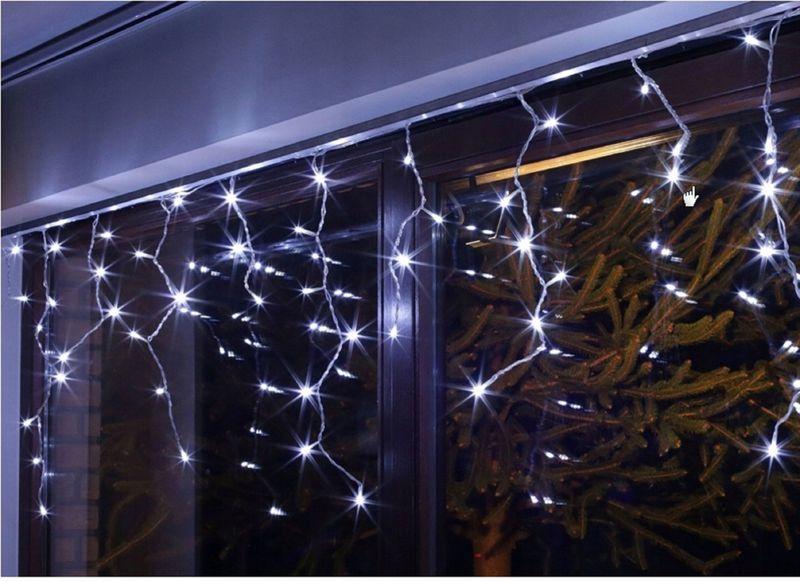 SOPLE 500 LED LAMPKI CHOINKOWE BIAŁE ZIMNE zdjęcie 2