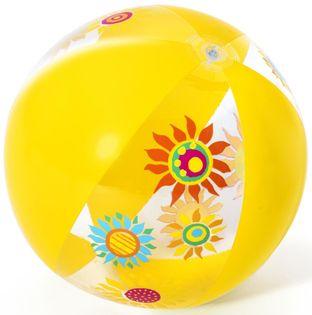 Piłka plażowa 51 cm Kolor - Akcesoria nadmuchiwane - 18 Flowers