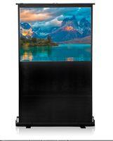 """Ekran Projekcyjny Podłogowy 208x200cm, proj. 203x152cm, 60"""" (4:3) Matt White 4 World"""